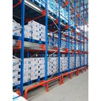 China High density pallet shuttle storage system SS400/Q235B steel on sale