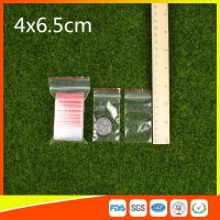 Easy Storage Packing Ziplock  Bags 1-4 mil Thickness food grade and non-toxic Manufactures