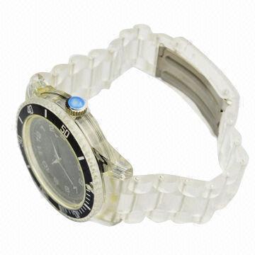 Quality Plastic Quartz Watch for sale
