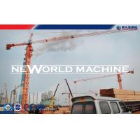 5 Tons 50m Jib Length Construction Tower Crane Equipment High Performance Manufactures