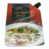 Chicken Soap and Ketchup Pouch with Spout, Stand Up and Good Sealing, Long Shelf Time, New Style Manufactures