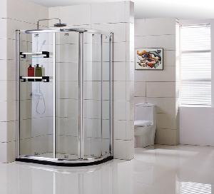 Framed Sector Double Sliding Shower Enclosure (YTS-003) Manufactures