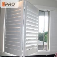 Economic And Durable Aluminum Alloy Plantation Shutters Vertical Sun Shade Louver Manufactures