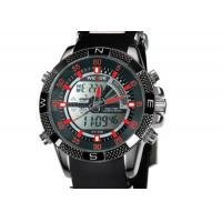 47 mm Chronograph Mens Army Watches Black Dial , Japan Quartz Watches Manufactures