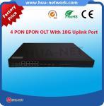 FTTH 1U 4PON ports GPON EPON/GPON/GEPON fiberhome olt 1:64 Manufactures