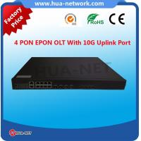 Buy cheap FTTH 1U 4PON ports GPON EPON/GPON/GEPON fiberhome olt 1:64 from wholesalers