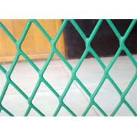 Plastic Coated Expanded Metal Mesh Fence For Highway Protection System Manufactures