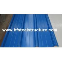 China High Strength Steel Plate Metal Roofing Sheets With 40 - 275G / M2 Zinc Coating on sale