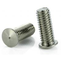 Stainless Steel Flat Head Screw Spot Weld Screw 6g Tolerance Zinc Plate Surface Manufactures