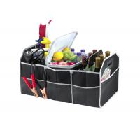 "2 In 1 Foldable Car Trunk Organizer With Cooler Multipurpose 23""X14""X12""  Manufactures"
