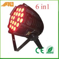 18pcs 15w Rgbwa Uv 6in1 Stage Spot Light For Entertainment Events Manufactures