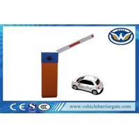Remote Control Galvanized Plate Car Park Barriers For Parking Lot System Manufactures