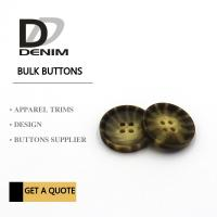 Decorative Polyester Bulk Clothing Buttons Large Size buttons Manufactures