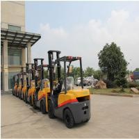 Compact FD35 Diesel Powered Forklift Truck 3500kg Capacity 1070mm Fork Length for sale