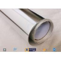 Heat Insulation 0.43mm Thick Aluminium Foil Coated Fiberglass Fabric Manufactures