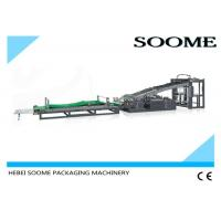 China Full Auto Flute Laminating Machine Sheet To Sheet 1500mm Paper Size 6.8T Weight on sale