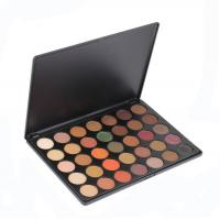 Quality Wholesale Eye Makeup Eyeshadow , 35 Color Nature Glow Eyeshadow Palette With High Pigment for sale