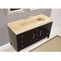 Eased Edges Natural Marble SBath Vanity Tops With Cut Out Polished Manufactures