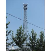 Types Of Telecommunication Towers Self Supporting Antenna Tower 3L / 4L 30M Manufactures