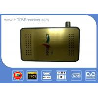 MINI HD DVB S2 Digital Satellite Receiver Automatic And Manual Channel Scan Option Manufactures