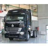 China New 2017 HOWO A7 Tractor Truck 6x4 Prime Mover Truck 420 Hp Double Sleepers Auto Operation For 40T tow on sale