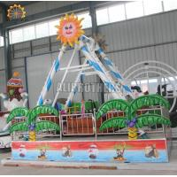 China 380 V Mini Pirate Ship Ride 45 Degree Swing Angel 5.5 * 4.5 * 3.5 Meter on sale