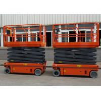 Small Electric Scissor Lift Aerial Work Platform Working Height 10M Manufactures