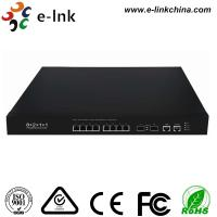 BCM Chip Power Over Ethernet Gigabit Switch L2 Managed 8 Port 1G / 10G Base -T Manufactures