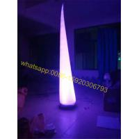 Buy cheap colorful inflatable cone for sale from wholesalers