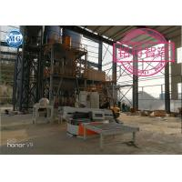 China Automatic dry mortar production line for cement sand mixing and packing with PLC control system on sale