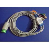 Spacelabs Ultraview 5 Lead ECG Patient Cable With Lead Wire 17 Pin Connector Manufactures