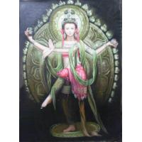 Apsaras Oil Painting (OLP10-006) Manufactures