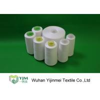 100% Polyester Spun Yarn With Paper cone / 24000KG Polyester Sewing Thread For A Container Manufactures