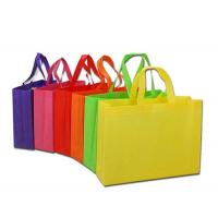 China Biodegradable Non Woven Shopping Bag Polypropylene Tote Bags 105-180g/M² Fabric on sale