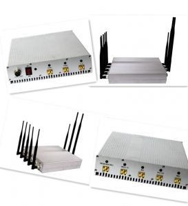 Signal jammer | 4G LTE/3G/GSM 이동 전화 원격 제어 방해기/차단제, 8개의 안테나 Manufactures