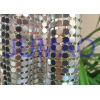 Decorative Bling Aluminum Metal Sequin Fabric Light Silver With 4 Branches Manufactures