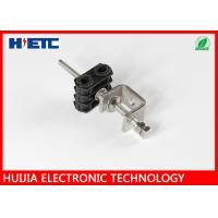 """Two Hole Type Stainless Steel 2-1/4"""" Feeder Coaxial Cable Clamps For Communication Manufactures"""