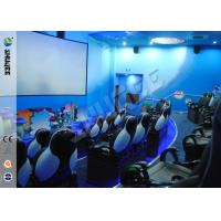 Electric System 5D Movie Theater Cinema Equipment With Environment Special Effect Manufactures