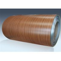 Room Door PVC Film Metal Laminate Sheets Laser Coated Cold Rolled Steel Coil Manufactures