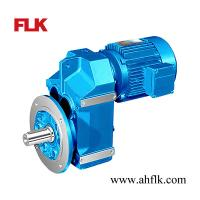 F series Shaft Mounted Helical Geared Motor Manufactures