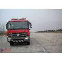 Mercedes Commercial Fire Trucks Max Speed 100KM/H With Pressure Combustion Engine Manufactures