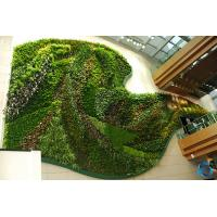 Multi Color Artificial Plant Wall Panels Manual Crafts For Backdrop Decoration