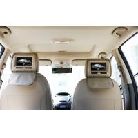 China Car Headrest DVD Players With FM Wireless Game Joystick , Dual Speakers And Dual IR on sale