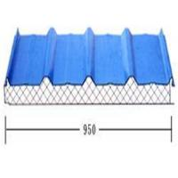 Lightweight Roof Tiles glass cotton building material , ISO9001 approvals Manufactures
