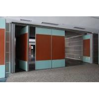 Leather Folding Acoustic Room Divider / Movable Partition Wall Manufactures