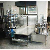 100L 50mm Double Layer Automatic Vacuum Homogenizing Emulsifier for cosmeti, lotion Manufactures