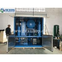 China Weather Proof Type Double Stage High Vacuum Insulating Oil Purifier Machine 9000Liters/Hour on sale