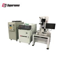 200W 4 Axis Automatic Laser Welding Equipment CCD System With Rotary Manufactures