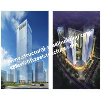 Q345B Multi-storey steel prefab buildings For Residential Hotel And Office Fabricated Contractors Manufactures