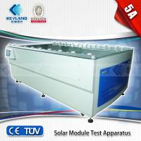 China Solar Module Test Apparatus(Solar Simulator)/mainly used in electrical performance auto test and result record of solar on sale